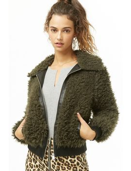 Vero Moda Shaggy Faux Fur Jacket by Forever 21