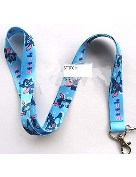 Stitches And Lilo Lanyard Keychain Charm Id Holder by Cheapest Elect Lanyard