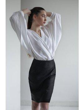 White Linen Shirt, Linen Shirt Women, Shirts For Women, White Shirt, Linen Top, Womens Linen Clothing, White Linen Blouse, Linen Clothes by Etsy