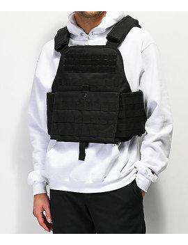 Rothco Black Plate Vest by Rothco