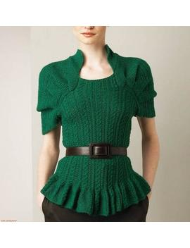 Cute Tunic Shirt Elegant Sleeve Crochet Sexy Lace Women Top Replica Gift by Etsy