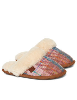 Kate Harris Tweed Mule Slipper by Bedroom Athletics