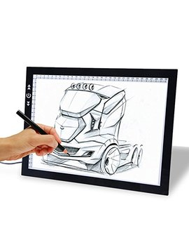 "17"" Drawing Tablet, Autolizer Adjustable Brightness Tattoo Tracing Pad, Led Board Art Drawing Table Light Box For Animation, Sketching, Designing, Stenciling, Drawing,Sewing (17"") by Autolizer"