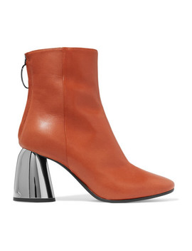 Leather Ankle Boots by Ellery