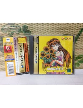 Room Mate Ryoko In Summer Vacation W/Spine Sega Saturn Ss Japan Game Vg+!! by Ebay Seller