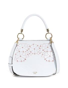 Leila Bow Top Handle Flap Crossbody by Guess