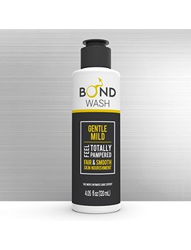 Bond Men's Intimate Wash 4.05 Fl. Oz. (120m L) The Best Hygiene Care Products For Men. Confidence Booster & Good For Daily Use. (Gentle Mild) by Bond