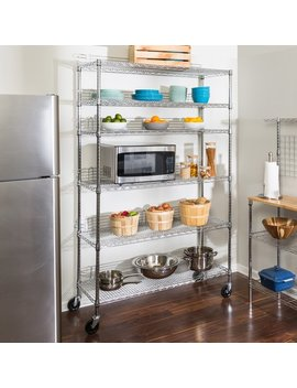 "Honey Can Do Urban 72"" H X 48"" W Shelving Unit & Reviews by Honey Can Do"