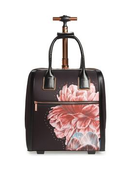 Tranquility Rolling Faux Leather Travel Bag by Ted Baker London
