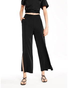 Primana Side Slit Trousers by Pomelo