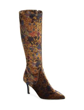 Cher Floral Knee High Boot by Ron White