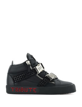 Men's Limited Edition Tribute To Michael Jackson High Top Sneakers by Giuseppe Zanotti
