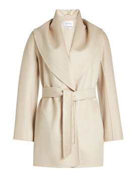 Belted Wool Jacket by Max Mara