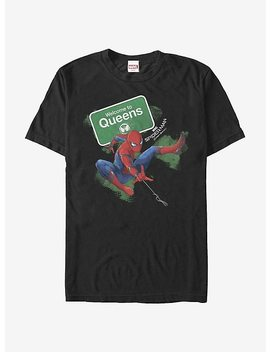 Marvel Spider Man Homecoming Welcome To Queens T Shirt by Hot Topic