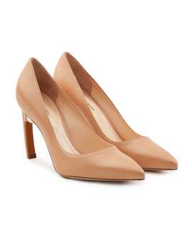 Mira Leather Pumps by Nicholas Kirkwood