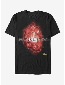 Marvel Avengers: Infinity War Reality Stone T Shirt by Hot Topic
