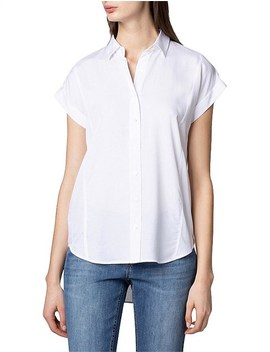 Short Sleeve Modal Shirt by Trenery