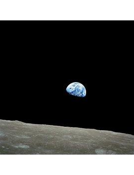 Apollo 8 Nasa Moon Mission Earthrise by Pdgraphics