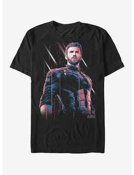 Marvel Avengers: Infinity War Captain America Streak T Shirt by Hot Topic