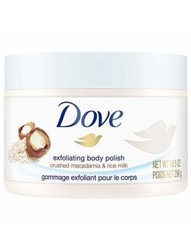 Dove Exfoliating Body Polish Body Scrub, Pomegranate & Shea, 10.5 Ounce by Amazon