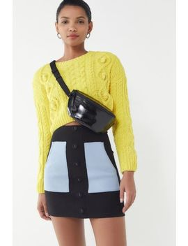 Uo Simi Button Front Sweater Mini Skirt by Urban Outfitters