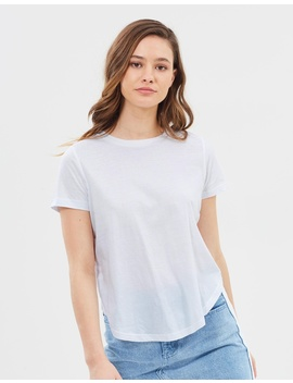 Collins Button Detail Tee by Nude Lucy