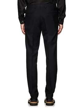 Wool Twill Slim Trousers by Dries Van Noten