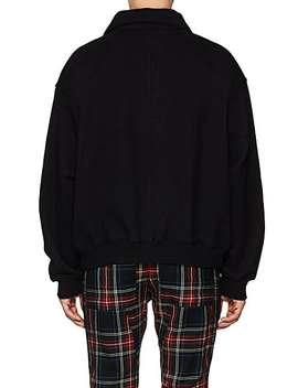 Cotton Terry Quarter Zip Sweatshirt by Fear Of God