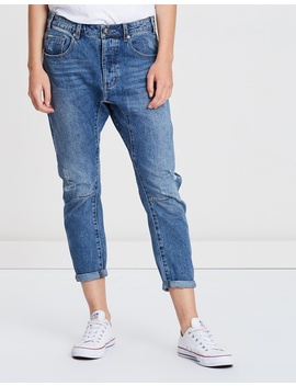 Saints Boyfriend Jeans by Oneteaspoon