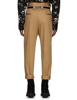 Pleated High Rise Slim Trousers by Haider Ackermann