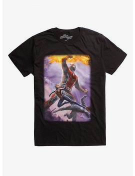 Marvel Ant Man And The Wasp Poster T Shirt Hot Topic Exclusive by Hot Topic