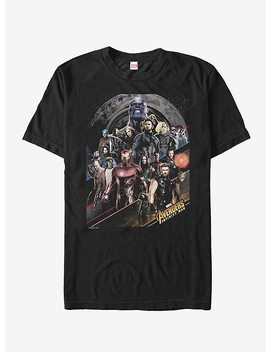 Marvel Avengers: Infinity War Character Scene T Shirt by Hot Topic