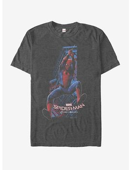 Marvel Spider Man Homecoming Swing T Shirt by Hot Topic