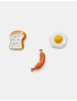Breakfast Funky Play Earrings by Short Story