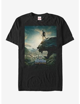 Marvel Black Panther 2018 Epic View T Shirt by Hot Topic