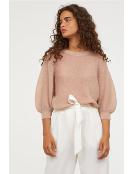 Sweater In Mohair Mix by H&M