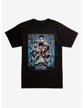 Marvel Black Panther Poster T Shirt Hot Topic Exclusive by Hot Topic