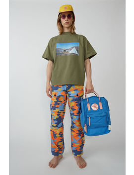 Cargo Trousers Blue/Orange by Acne Studios