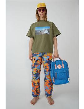 Cargo Trousers Blue/Orange by Acne Studios