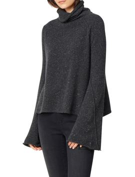 Adalyn Oversize Bell Sleeve Cashmere Sweater by Habitual