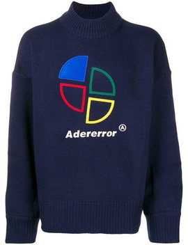 Logo Embroidered Sweater by Ader Error