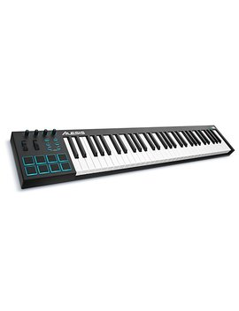 Alesis V61 | 61 Key Usb Midi Keyboard & Drum Pad Controller (8 Pads / 4 Knobs / 4 Buttons) by Amazon
