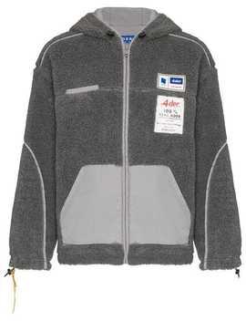 Reverse Fleece Hooded Jacket by Ader Error