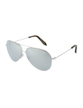 Metal Aviator Sunglasses by Victoria Beckham