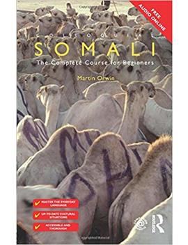 Colloquial Somali by Martin Orwin