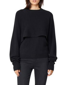 Joell Popover Cashmere Sweater by Habitual