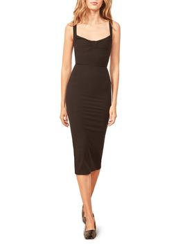 Adrian Sweetheart Neck Body Con Dress by Reformation