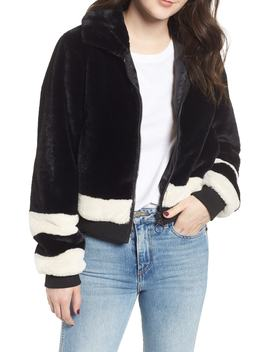 Faux Fur Bomber Jacket by Ten Sixty Sherman