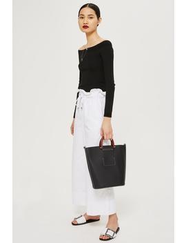 Black Tote Bag by Topshop
