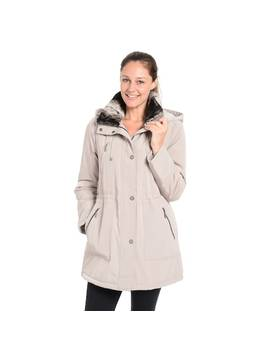 Women's Fleet Street Faux Fur Trimmed Anorak Jacket by Kohl's